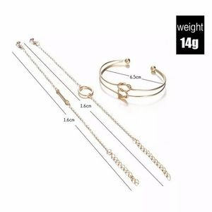 Jewelry - Gold Bracelet Set